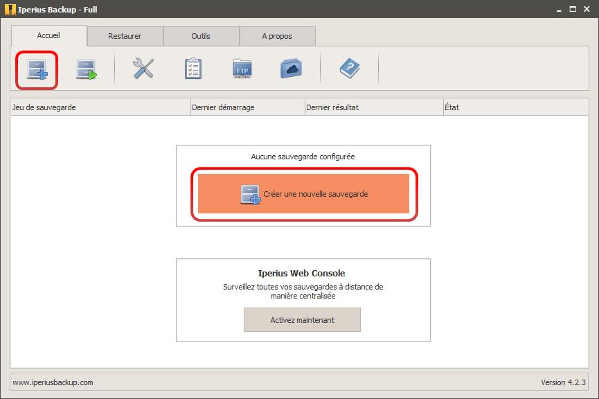 Sauvegarder sql server avec iperius - Porta sql server ...