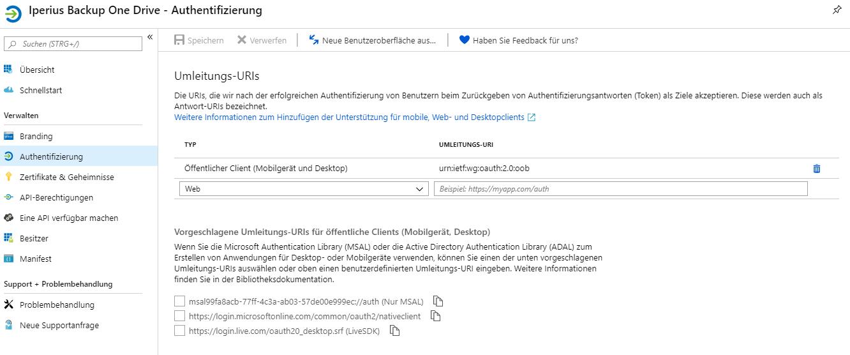 Wie Sie OneDrive API aktivieren und die Client-ID erhalten