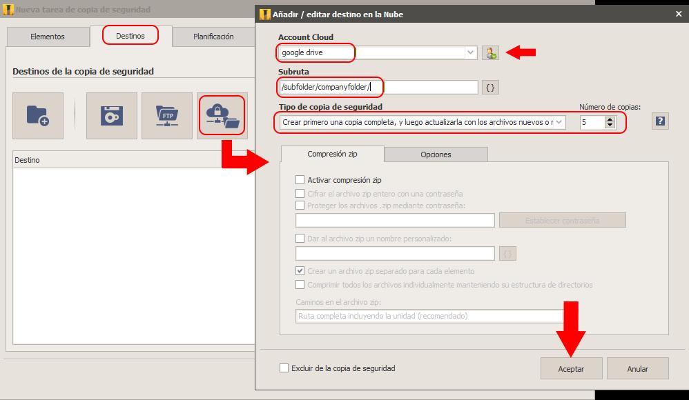 Cómo Hacer La Copia De Seguridad En Google Drive
