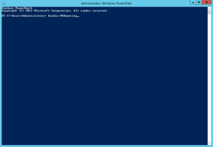 Abilitare Powershell Remoting 1