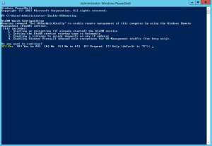 Abilitare Powershell Remoting 2