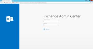 Configurazione permessi utente su Microsoft Exchange 1