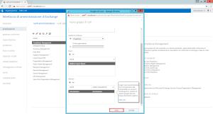 Configurazione permessi utente su Microsoft Exchange 15
