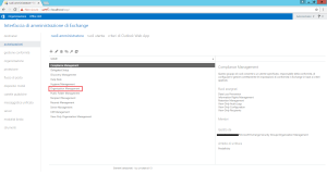 Configurazione permessi utente su Microsoft Exchange 3