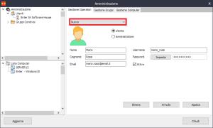 Iperius Remote - Creazione nuovo utente