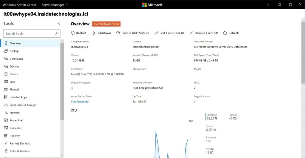 Disponibilidad General De Windows Server 2019