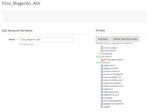 Magento Attribute Set and Attribute Group 2