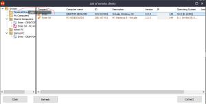 Iperius remote - Spostare client nei gruppi