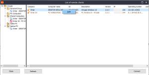 Iperius remote - Modifica impostazioni client