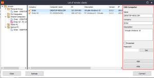 Iperius remote - Impostazioni client