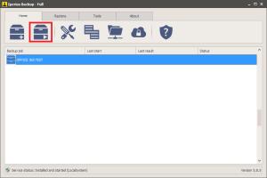 Office 365 - Run Backup