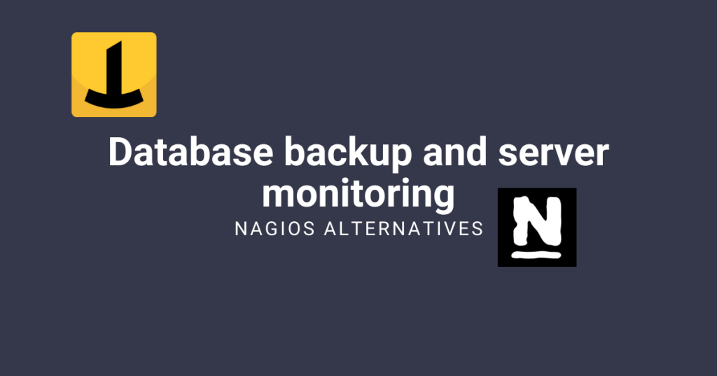 database backup monitoring