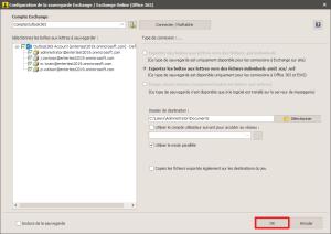 office365 - Valider paramètres Exchange