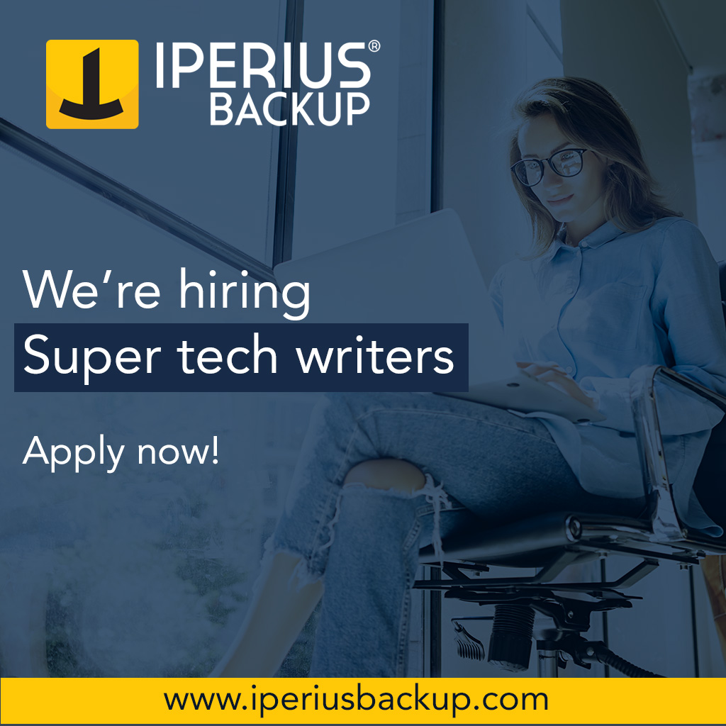 Iperius Backup - careers