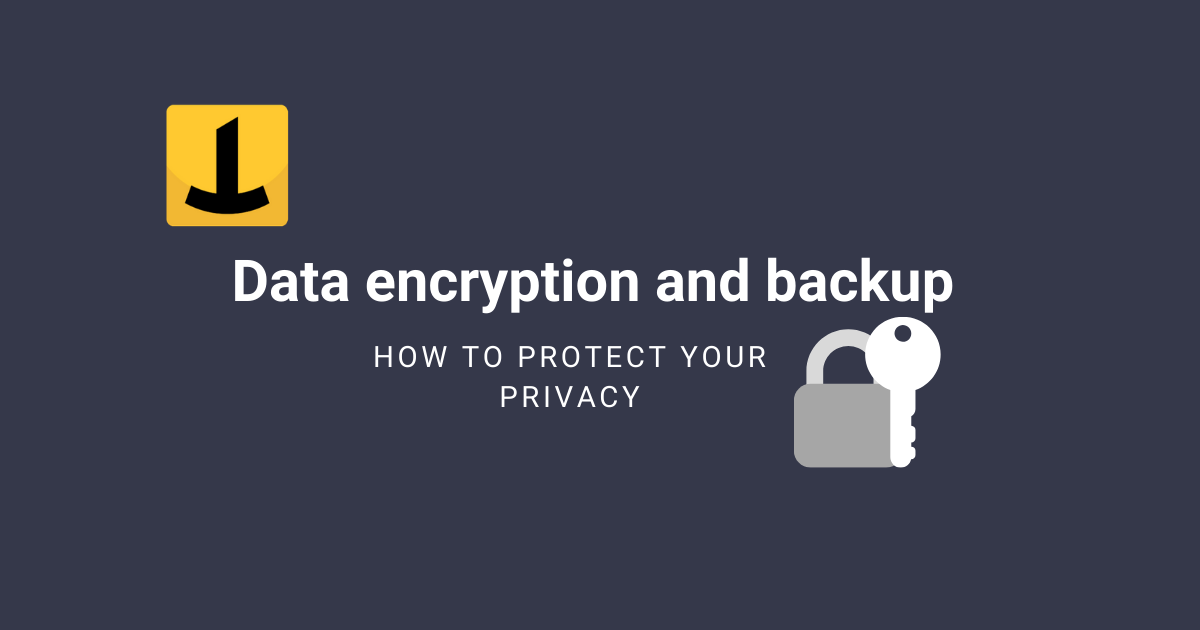 data encryption backup