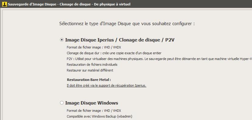 Iperius-Image-Disque