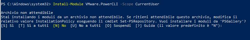 install-module