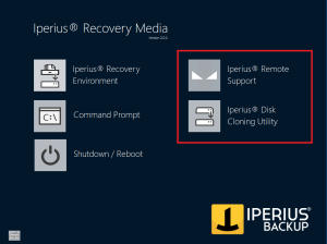Iperius Recovery Environment 2.0.0