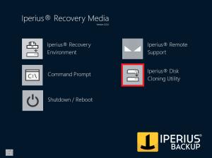Iperius Disk Cloning Utility